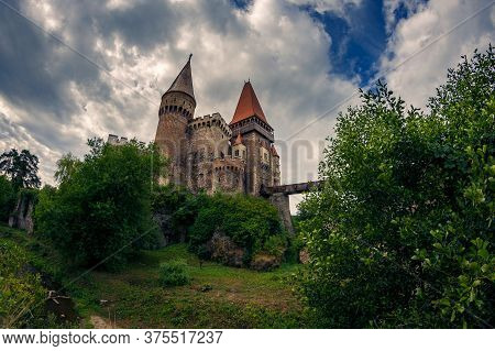 Beautiful Medieval Castle With Amazing Architecture Found In Hunedoara Romania By The Name Corvin Ca
