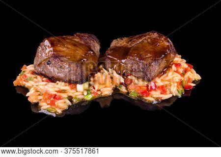 Tomatoes, Lettuce, Fresh, Salad, Juicy, Tongue, Sliced, Gastronomy, Traditional, Rustic, Potato, Gri