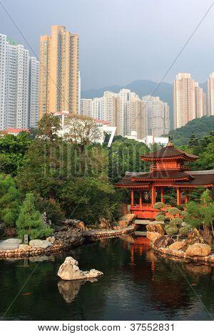 Public Nan Lian Garden, Hong Kong.