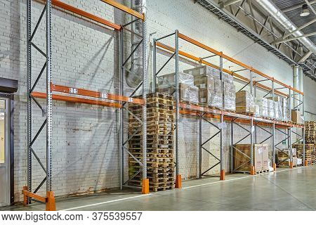 St. Petersburg, Russia - July 27, 2017: A Bonded Warehouse Can Be Used By An Importer, To Hold Goods