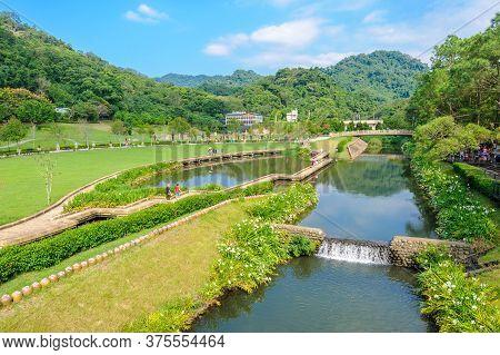 Cihu, A Famous Park In Daxi, Taoyuan, Taiwan