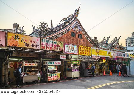 March 6, 2020 : Hsinchu City God Temple, The Largest Temple At The Time When It Was Completed, Worsh