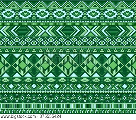 Navajo American Indian Pattern Tribal Ethnic Motifs Geometric Seamless Background. Abstract Native A