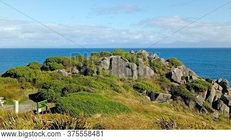 Beautiful Scenery Around Bluff Beach In Invercargill New Zealand