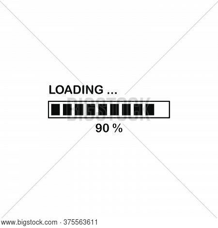 Illustration Vector Graphic Of Loading Bar Icon