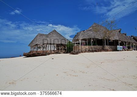 Nungwi, Zanzibar / Tanzania - 31 Dec 2016: Nungwi Beach On Zanzibar Island, Tanzania