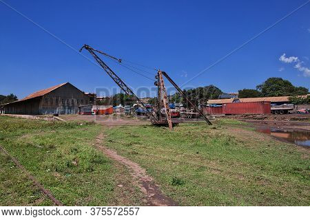 Arusha / Tanzania - 03 Jan 2017: The Railway Station In Arusha City, Tanzania