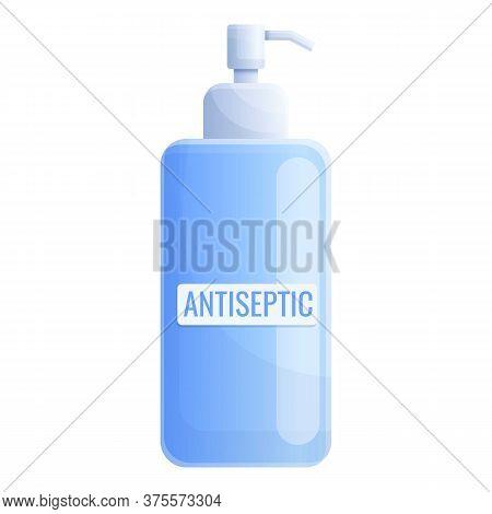 Antibacterial Antiseptic Icon. Cartoon Of Antibacterial Antiseptic Vector Icon For Web Design Isolat