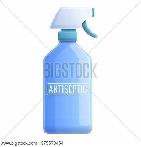 Antiseptic Spray Icon. Cartoon Of Antiseptic Spray Vector Icon For Web Design Isolated On White Back