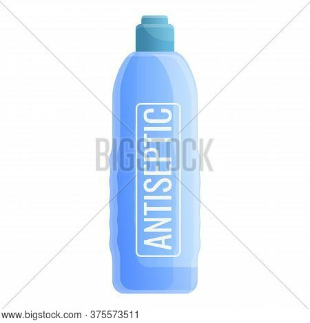 Covid Antiseptic Icon. Cartoon Of Covid Antiseptic Vector Icon For Web Design Isolated On White Back