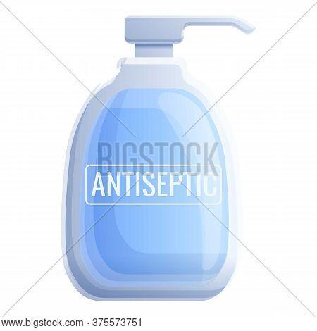 Antiseptic Medical Bottle Icon. Cartoon Of Antiseptic Medical Bottle Vector Icon For Web Design Isol