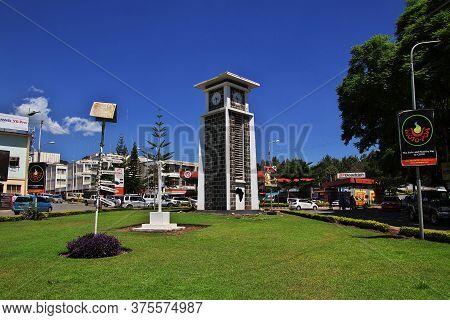 Arusha / Tanzania - 03 Jan 2017: The Clock Tower In Arusha City In Tanzania, Africa