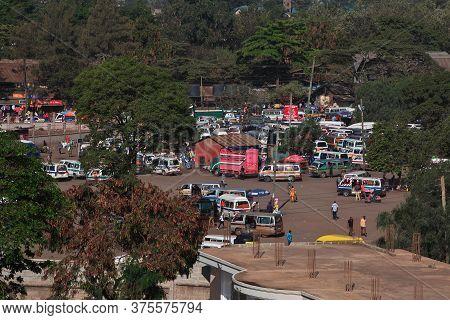 Arusha / Tanzania - 04 Jan 2017: The Street In Arusha City, Tanzania