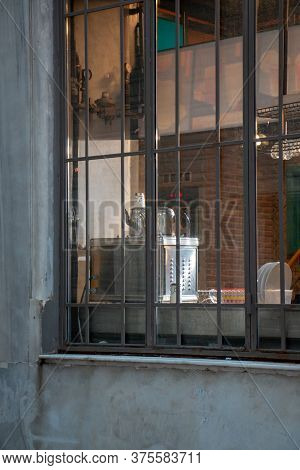 Window Of Old Built Historical Building / Turkiye