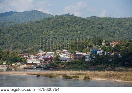 Thailand Lao Chiang Khong Huay Xay Mekong
