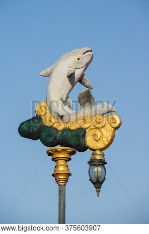 Thailand Chiang Khong Mekong Catfish Lantern