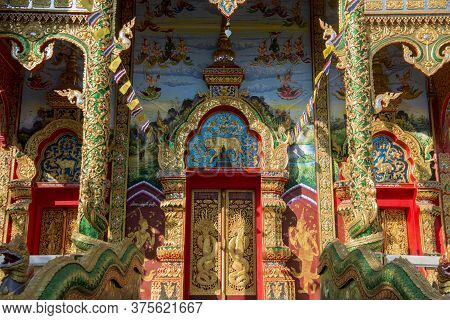 Thailand Chiang Khong Wat Hua Wiang