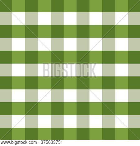 Shades Of Green Christmas Plaid Wallpaper