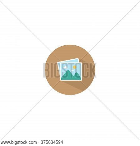 Photo Gallery Icon Vector In Trendy Flat Style. Image, Picture, Photograph Symbol Illustration