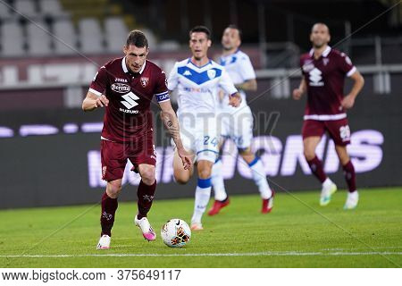Torino (italy) , 08th July 2020. Italian Serie A. Andrea Belotti Of Torino Fc    During The Serie A
