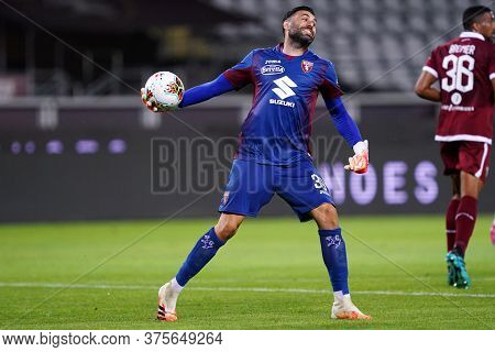 Torino (italy) , 08th July 2020. Italian Serie A. Salvatore Sirigu Of Torino Fc    During The Serie