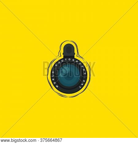 Vector Illustration Of Lensbong (phone Extra Lens) With