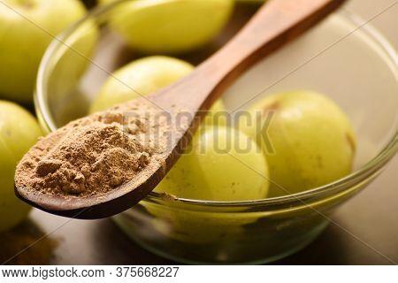 Amla Power, Indian Antioxidant Ayurvedic Medicine, Goose Berry Powder