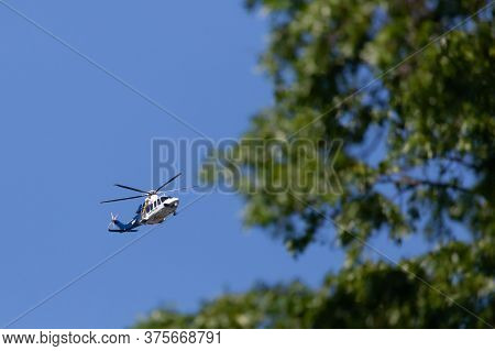 New Jersey State Police Helicopter