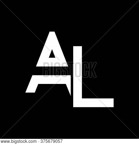 Al Logo Design Business Typography Vector Template. Creative Linked Letter Al Logo Template. Al Font