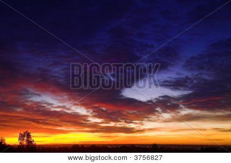 A Colorful Sunrise In Colorado