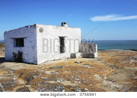 House On A Rock, View Onto A Lagoon