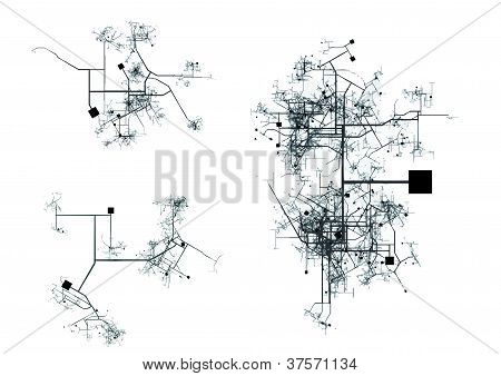 City / Center map