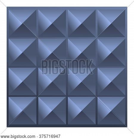 Soundproofing Barrier Icon. Cartoon Of Soundproofing Barrier Vector Icon For Web Design Isolated On