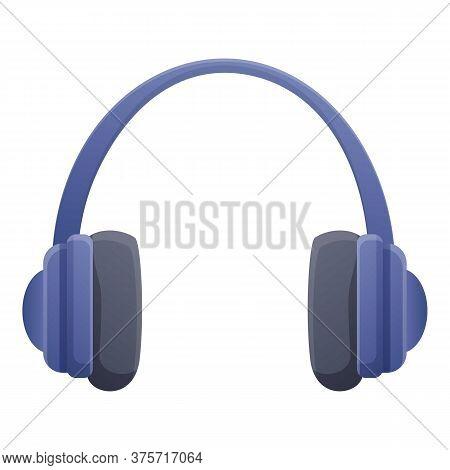 Headphones Soundproofing Icon. Cartoon Of Headphones Soundproofing Vector Icon For Web Design Isolat