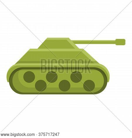Tank Toy Remote Control Icon. Cartoon Of Tank Toy Remote Control Vector Icon For Web Design Isolated