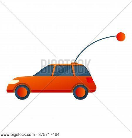 Kid Car Remote Control Icon. Cartoon Of Kid Car Remote Control Vector Icon For Web Design Isolated O