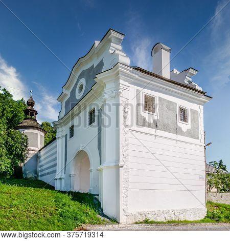 View At The Piargska Gate In Banska Stiavnica - Slovakia