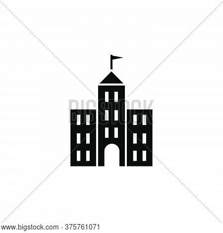 Illustration Vector Graphic Of School Building Icon