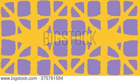 Japanese Tie Dye Seamless Pattern. Geometric Bohemian Asian Tie Dye Pattern. Geo Arc Shape Texture V