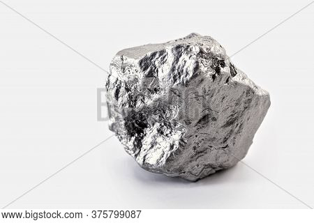 Nickel Stone. Chemical Element Resulting From The Combination Of Arsenic, Antimony Or Sulfur. Indust