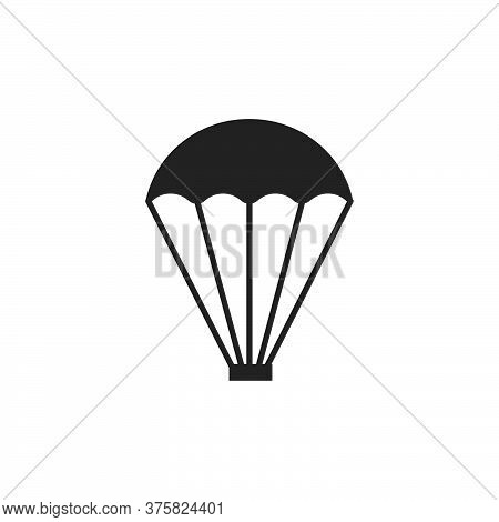 Parachute Vector Graphic Design Illustration