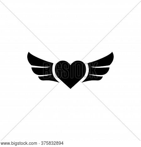 Heart Signage Icon Vector Illustration Template Design Trendy