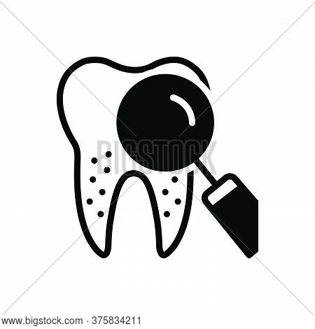 Black Solid Icon For Periodontics Dental Teeth Dental-care Dental-logos Smile Dental-clinics Orthodo
