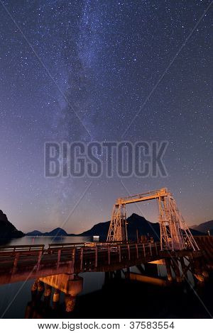 Milky Way At Porteau Cove Provincial Park