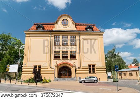 Lublin, Poland - June 11, 2020: Collegium Iuridicum Of John Paul Ii Catholic University Of Lublin (p