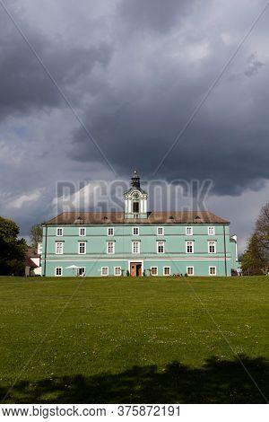 Dacice castle in Southern Bohemia, Czech Republic