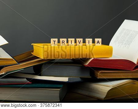The Concept Of Useless Knowledge With Books.