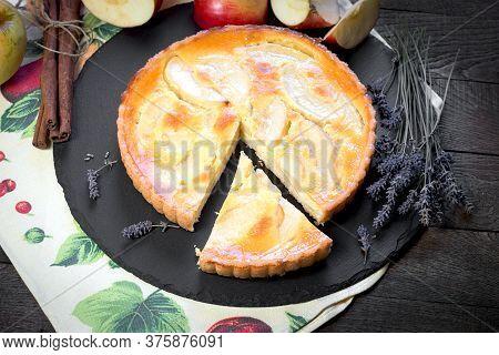 Homemade Apple Pie, Just Fresh Baked Apple Tart Pie