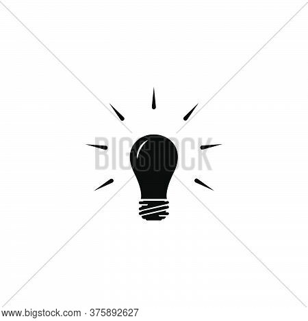 Illustration Vector Graphic Of Bulb Lamp Icon