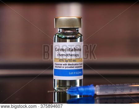 Gemcitabine Is A Chemotherapy Medication Used To Treat A Number Of Types Of Cancer.